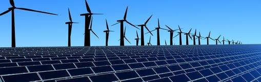Het gebied van de energie Royalty-vrije Stock Foto
