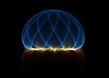 Het gebied van de energie royalty-vrije illustratie