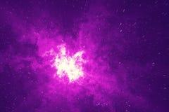 Het gebied van de heelalster in diepe ruimte met nevel vele lichte jaren verre van de Aarde Kleurrijke achtergrond het 3d terugge Royalty-vrije Stock Afbeelding