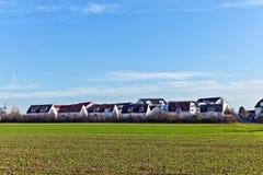 Het gebied van de huisvesting met acre stock fotografie