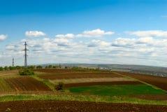 Het gebied van de landbouw Royalty-vrije Stock Afbeelding