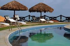 Het gebied van de pool Royalty-vrije Stock Foto