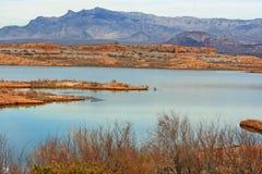 Het Gebied van de Recreatie van de Weide van het meer, Nevada Royalty-vrije Stock Fotografie