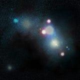 Het gebied van de ster Stock Fotografie
