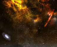 Het gebied van de ster. Royalty-vrije Stock Fotografie