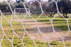 Het gebied van de voetbal Stock Afbeelding