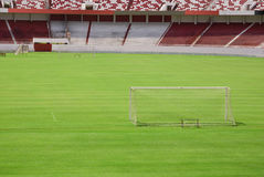 Het gebied van de voetbal Stock Afbeeldingen