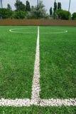 Het gebied van de voetbal Stock Fotografie