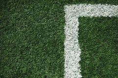 Het gebied van de voetbal stock foto