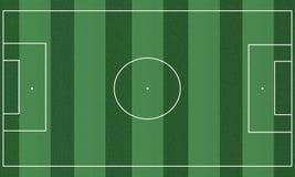 Het gebied van de voetbal stock illustratie
