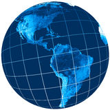 Het gebied van de wereld Stock Fotografie