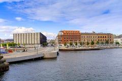 Het gebied van Denemarken - van Zeeland - Kopenhagen - panorama van ci royalty-vrije stock afbeelding