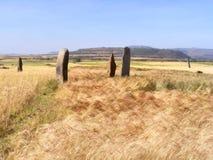 Het Gebied van Guditstelae in Ethiopië stock afbeeldingen