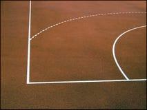 Het gebied van het basketbal Royalty-vrije Stock Afbeelding