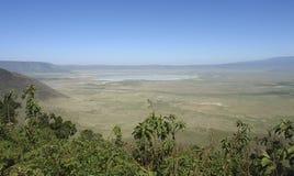 Het Gebied van het Behoud van Ngorongoro in Afrika Stock Fotografie