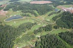 Het gebied van het golf royalty-vrije stock foto