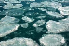 Het gebied van het ijs Stock Foto