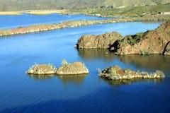 Het gebied van het moeras rond meer Havasu Stock Afbeeldingen