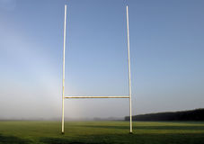 Het gebied van het rugby Royalty-vrije Stock Foto's
