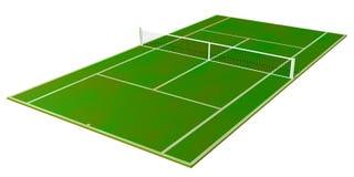 Het Gebied van het tennis Stock Foto