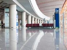 Het Gebied van het Vertrek van de luchthaven royalty-vrije stock fotografie