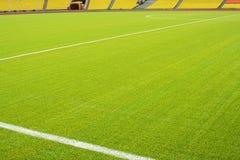 Het gebied van het voetbal Stock Afbeeldingen