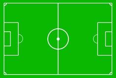Het gebied van het voetbal Royalty-vrije Stock Afbeelding