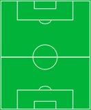 Het gebied van het Voetbal. Royalty-vrije Stock Afbeelding