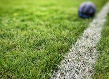 Het gebied van het voetbal Royalty-vrije Stock Foto's