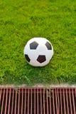 Het gebied van het voetbal Stock Foto