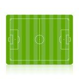 Het gebied van het voetbal. Vector. Royalty-vrije Stock Foto's