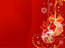 Het gebied van Kerstmis Stock Foto's