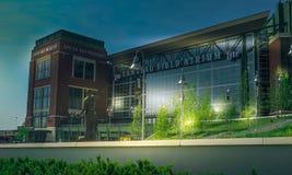Het Gebied van Lambeau in Groene Baai, Wisconsin Stock Foto's