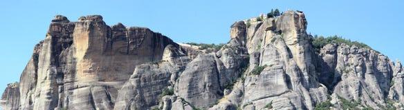 Het gebied van Meteora Stock Foto