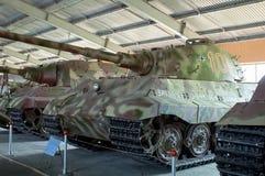 HET GEBIED VAN MOSKOU, RUSLAND - JULI 30, 2006: Duitse tanktijger II in t Stock Afbeeldingen