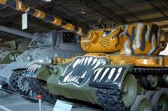 HET GEBIED VAN MOSKOU, RUSLAND - JULI 30, 2006: M46 Algemene Patton in royalty-vrije stock foto