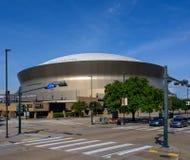 Het gebied van het New Orleans Saintshuis stock afbeeldingen