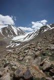 Het gebied van Pamir Russische de berglandschappen van Federatiecentraal-azië Royalty-vrije Stock Afbeeldingen