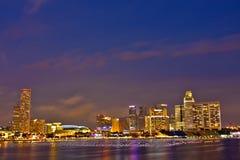 Het Gebied van Singapore CBD Royalty-vrije Stock Foto's