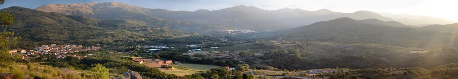 Het gebied van Vera van Caceres stock foto's
