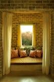 Het gebieds Toscaanse stijl van Daybed Royalty-vrije Stock Foto's
