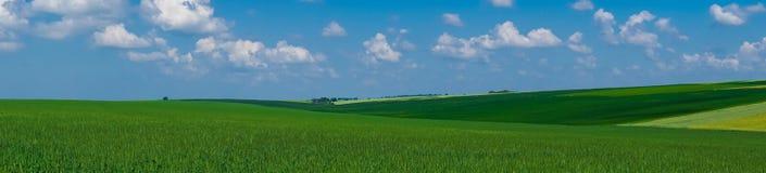 Het gebiedsmening van het panorama mooie landschap royalty-vrije stock fotografie