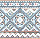Het geborduurde met de hand gemaakte patroon van de Oekraïne Royalty-vrije Stock Foto
