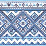 Het geborduurde patroon van de Oekraïne Stock Foto's