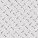 Het geborstelde Aluminium van de Diamant Royalty-vrije Stock Afbeelding