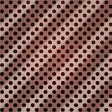 Het geborstelde rood van het Aluminium stock illustratie