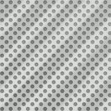 Het geborstelde Zilver van het Aluminium stock illustratie