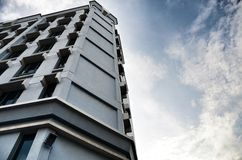 Het gebouw in de stad Royalty-vrije Stock Afbeelding