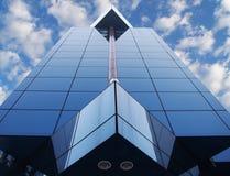 Het gebouw kijkt als een ruimteschip Royalty-vrije Stock Fotografie