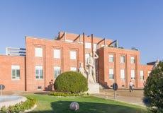 Het gebouw van de belangrijkste bureaus van Snia Torviscosa royalty-vrije stock foto